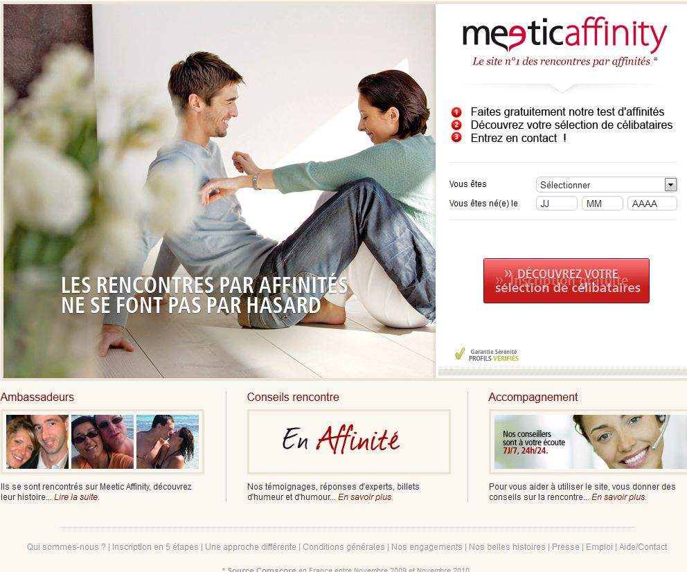 rencontre meetic affinity