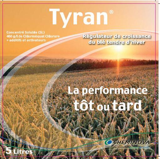 Photo du Régulateurs céréales Tyran