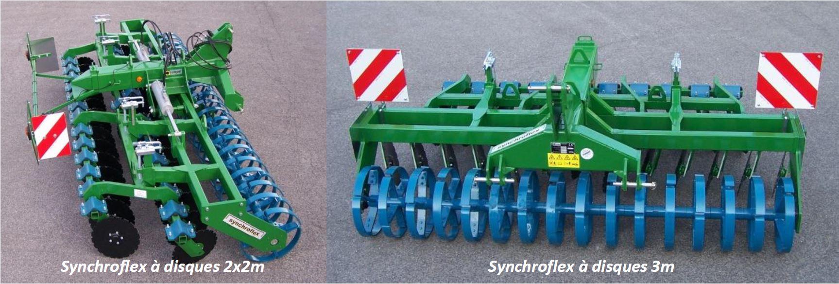 Photo du Déchaumeurs à disques indépendants Synchroflex