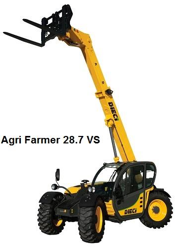 Photo du Chargeurs télescopiques AgriFarmer 28.7 VS