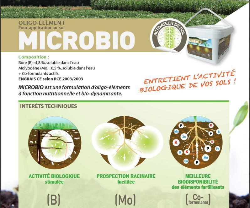 Photo du Amendements minéraux MICROBIO