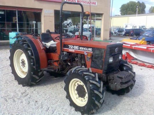 Photo du Autres tracteurs 72-86 L