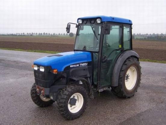 Photo du Tracteurs vignerons TN65V Cabine Dual Com