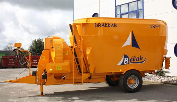 Photo du Mélangeuses-distributrices-pailleuses DRAKKAR SBT