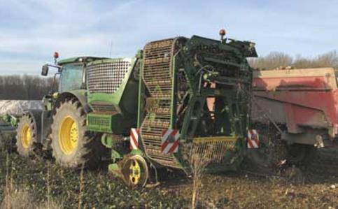 Photo du Récolte des betteraves X-Load S1