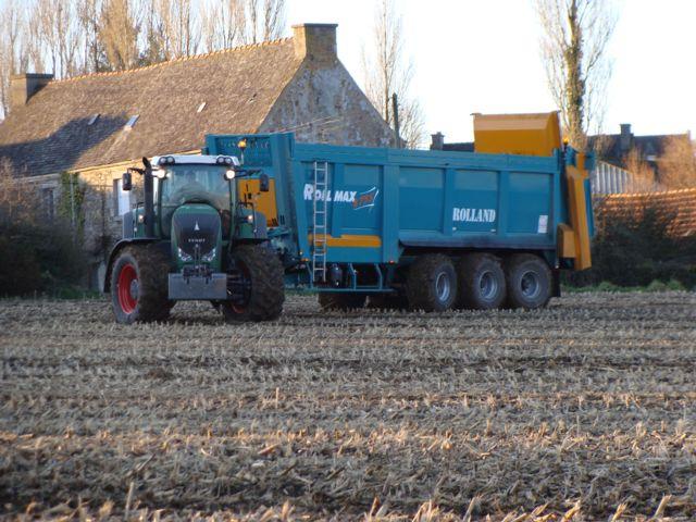 Photo du Epandeurs à fumier et composts ROLLMAX 8735