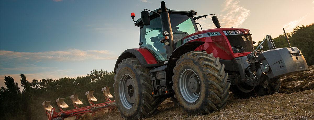 Photo du Tracteurs agricoles MF 8727 S