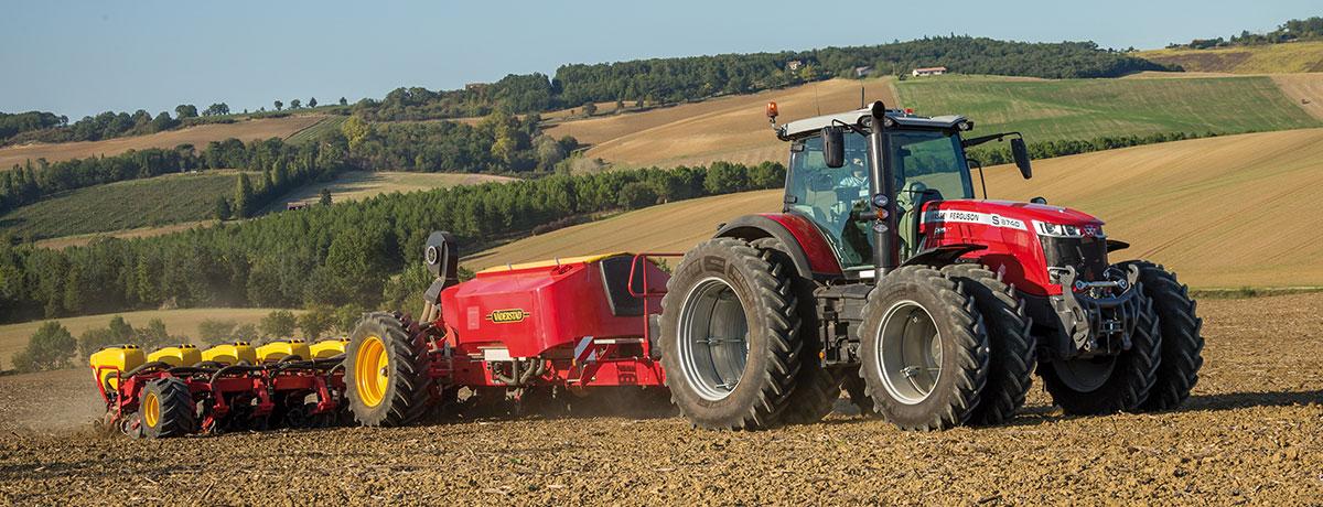 Photo du Tracteurs agricoles MF 8732 S