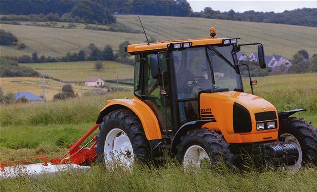 Photo du Tracteurs agricoles Ares 540 RX/RZ