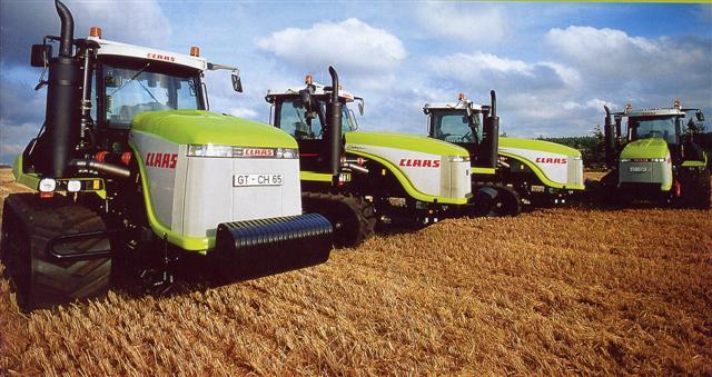 Photo du Tracteurs agricoles Challenger 85 E