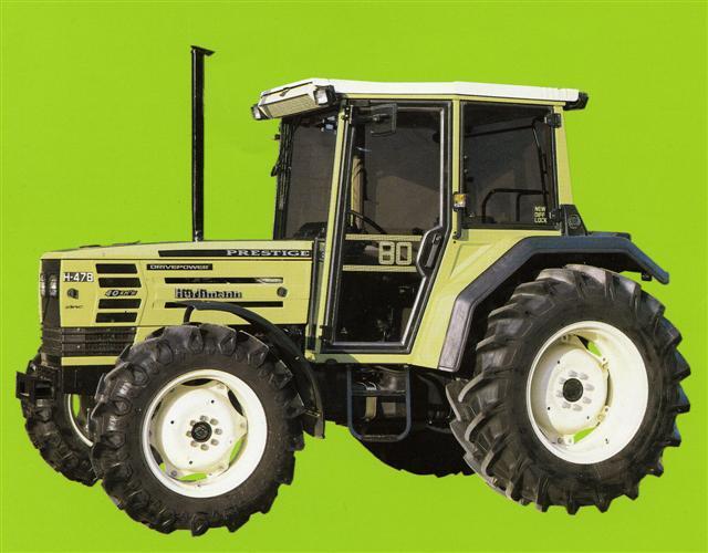 Photo du Tracteurs agricoles H 478 Prestige