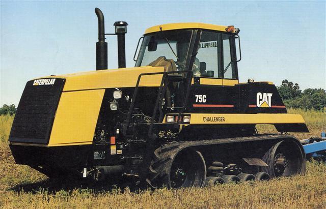 Photo du Tracteurs agricoles Challenger 75 C