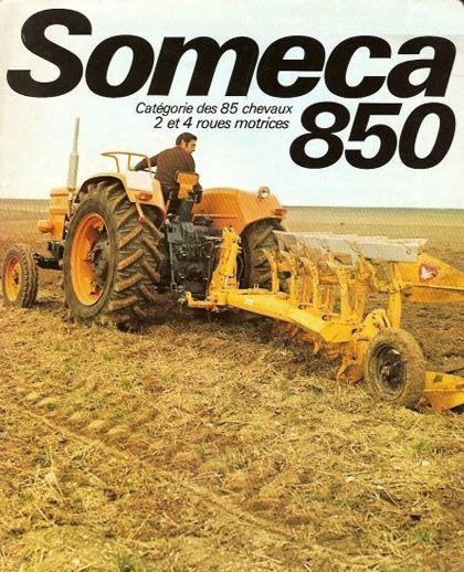 Photo du Tracteurs agricoles Someca 850 (DT)
