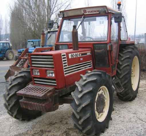 Photo du Tracteurs agricoles Fiat 90-90