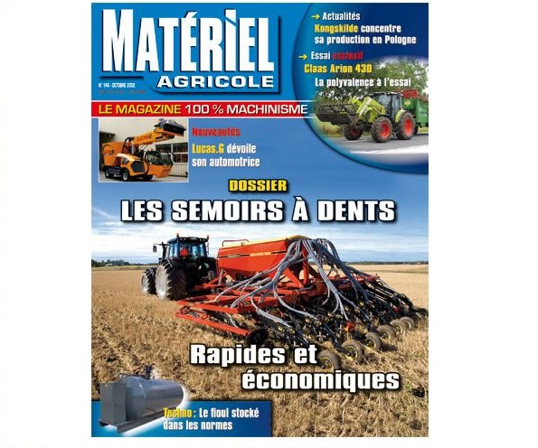 Photo du magazines, journaux agricoles Matériel Agricole