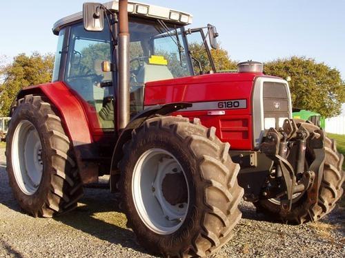 Photo du Tracteurs agricoles MF 6180