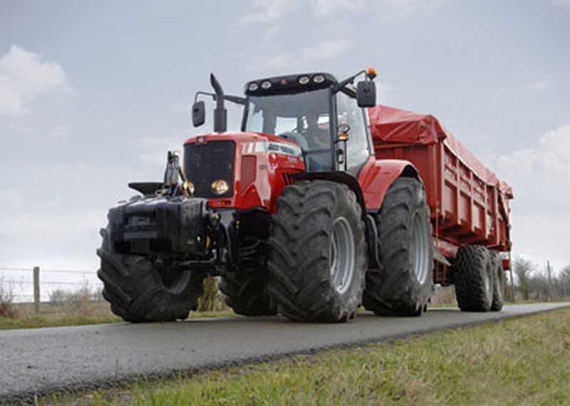 Photo du Tracteurs agricoles MF 6495 (Dyna-6)