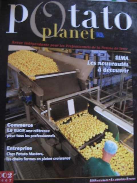 Photo du magazines, journaux agricoles Potato Planet