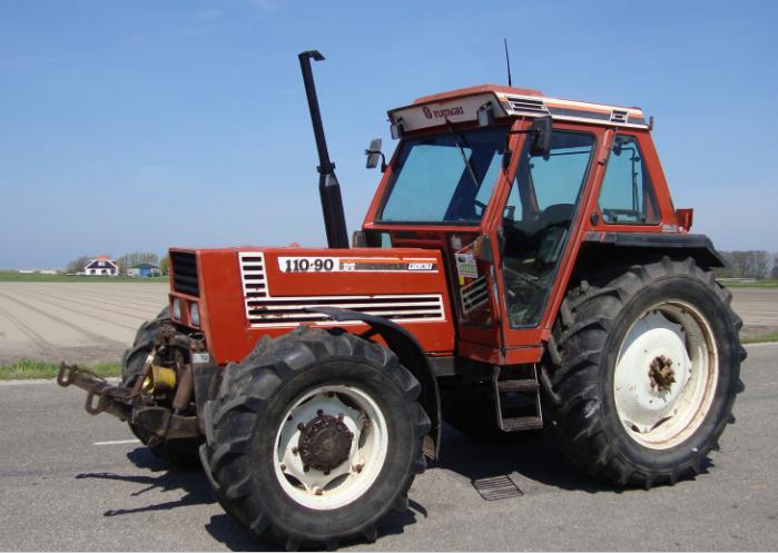 Photo du Tracteurs agricoles 100-90 DT