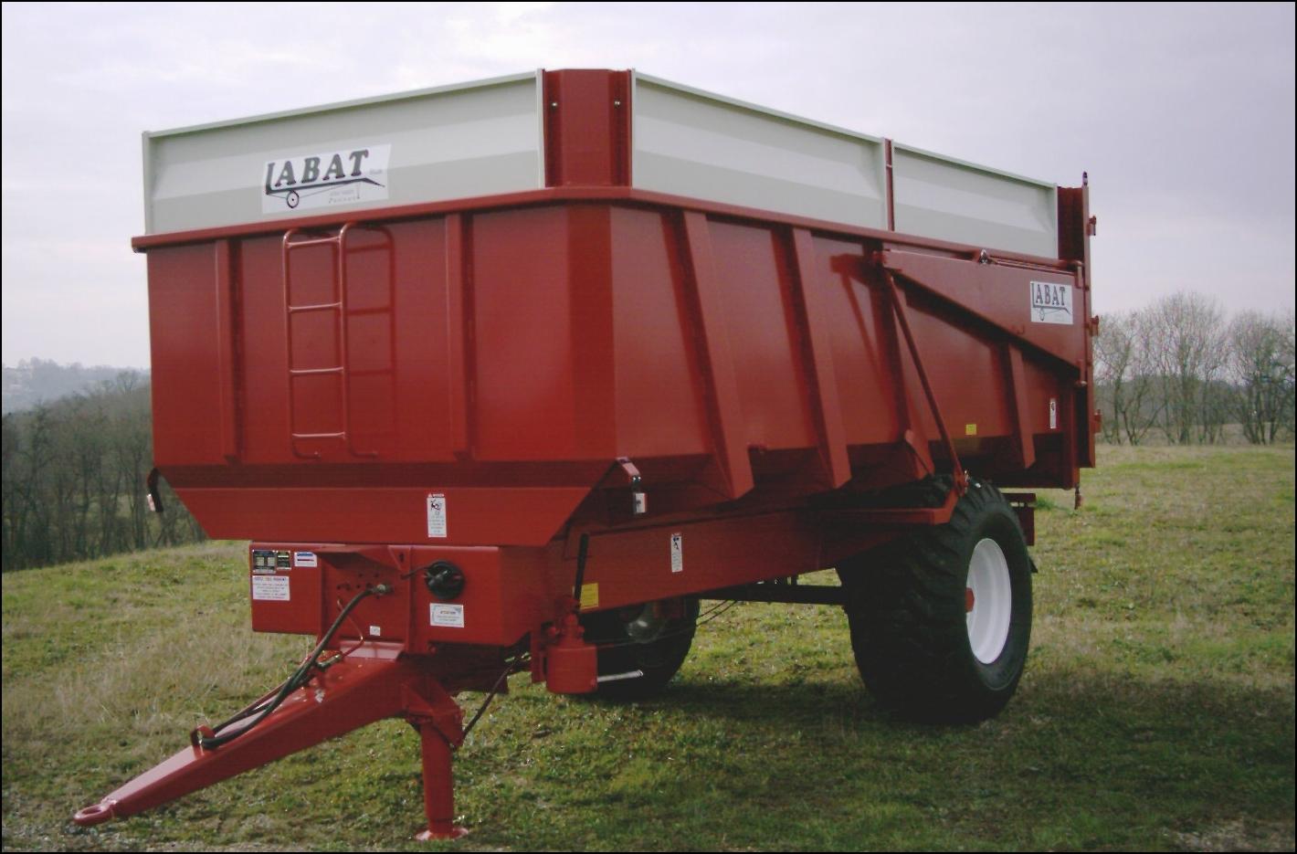 Photo du Remorques agricoles RB8M,...,RBB18M