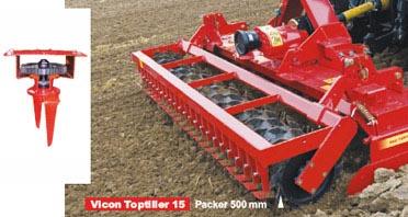 Photo du Herses rotatives/ Herses alternatives Toptiller TT15 et TTF20