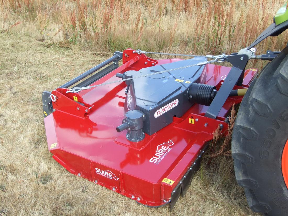 Photo du Broyeurs à axe vertical Turbogyr porté P 3000 et 3500