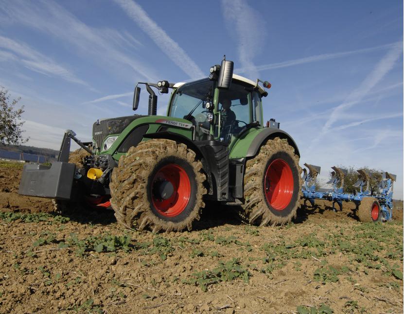 Photo du Tracteurs agricoles 724 Vario