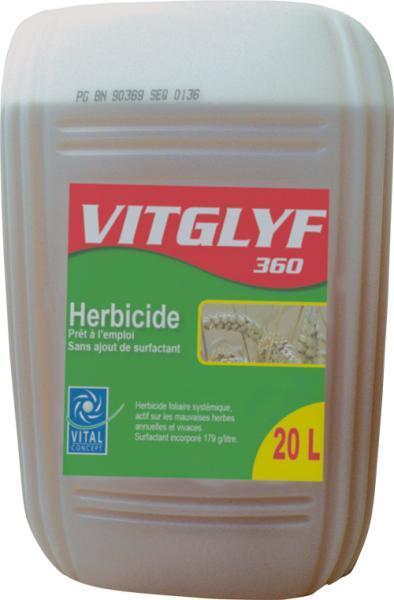 Photo du Herbicides totaux Vitglyf 360