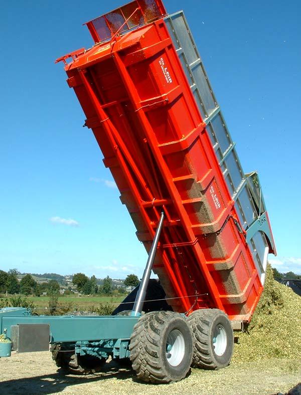 Photo du Remorques agricoles SP120,..., SP320