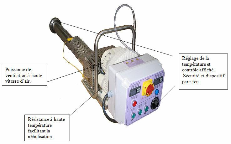 Photo du Matériels de traitement des récoltes Electrofog