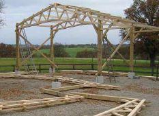 Photo du Construction bâtiments Bâtiments agricoles monté ou en kit